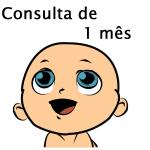 Consulta de 1 Mês com Pediatra - Puericultura