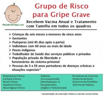 Gripe - Grupo de Risco