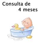 Consulta de 4 Meses com Pediatra - Puericultura