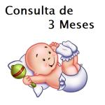 Consulta de 3 Meses com Pediatra - Puericultura