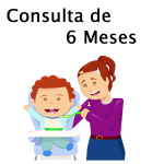 Consulta de 6 Meses com Pediatra - Puericultura