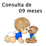 Consulta de 9 Meses com Pediatra - Puericultura