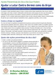 Folheto Gripe